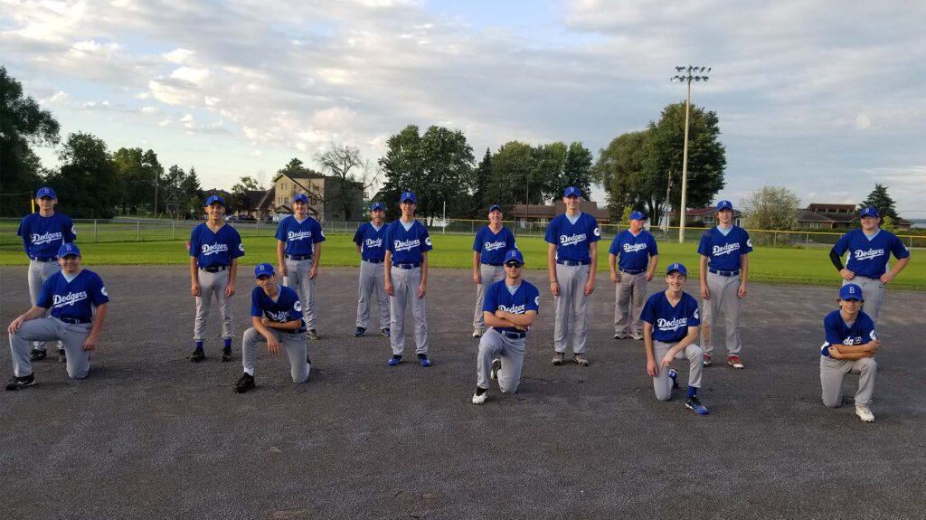 2020 - 16U Bytown Dodgers Baseball