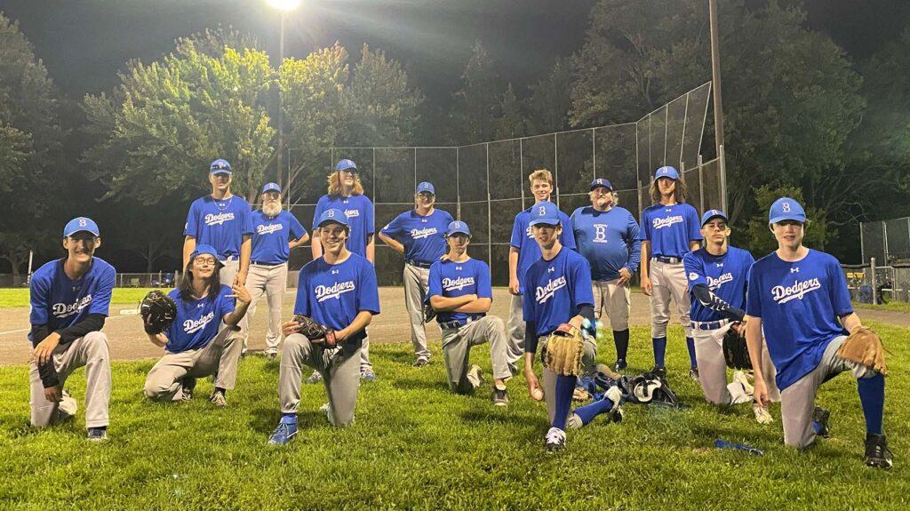 2020 - 18U Bytown Dodgers Baseball