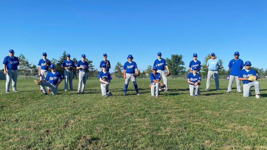 2020 - Bantam Bytown Dodgers Baseball