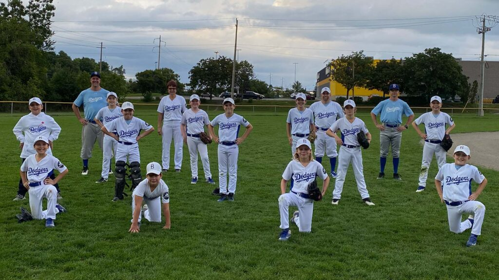 2020 - Mosquito Bytown Dodgers Baseball