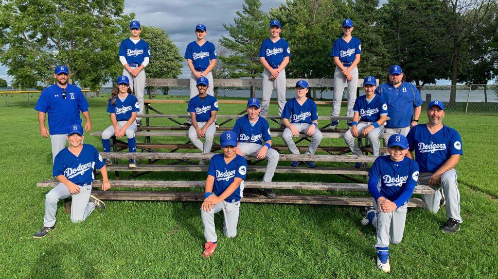 2020 - Peewee Bytown Dodgers Baseball