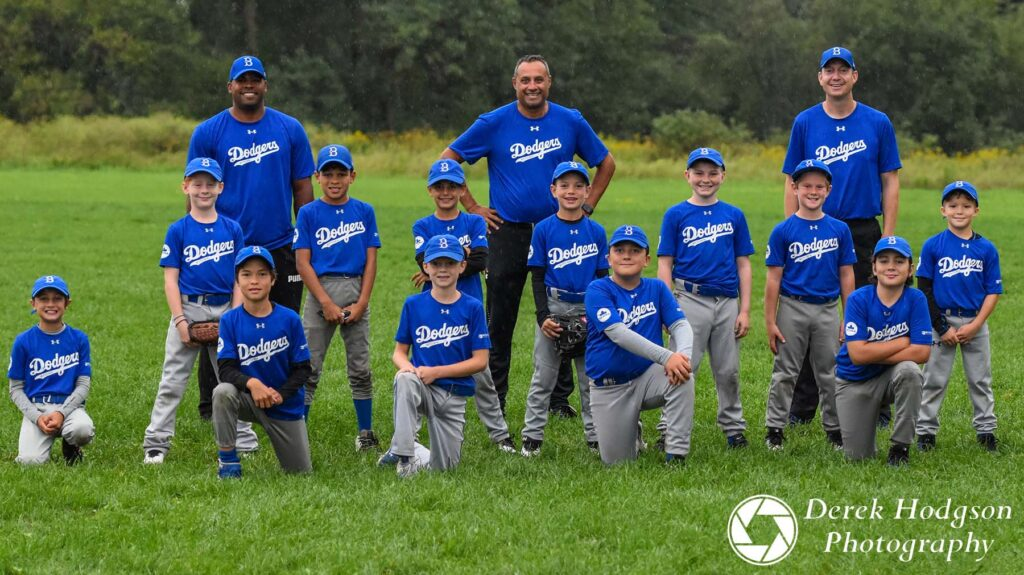 2020 - Rookie Bytown Dodgers Baseball